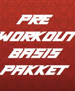 pre workout basis pakket