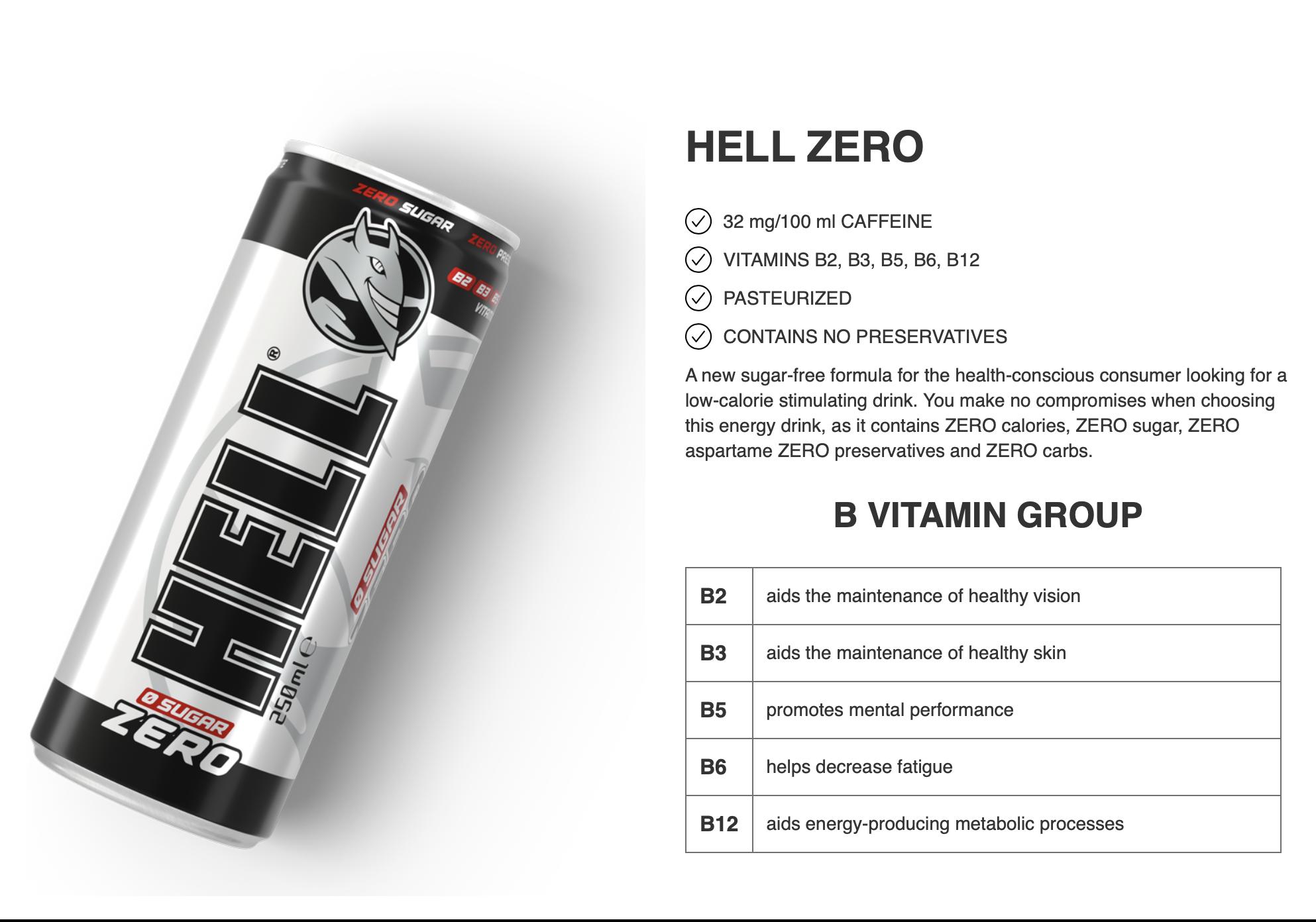 Hell energy