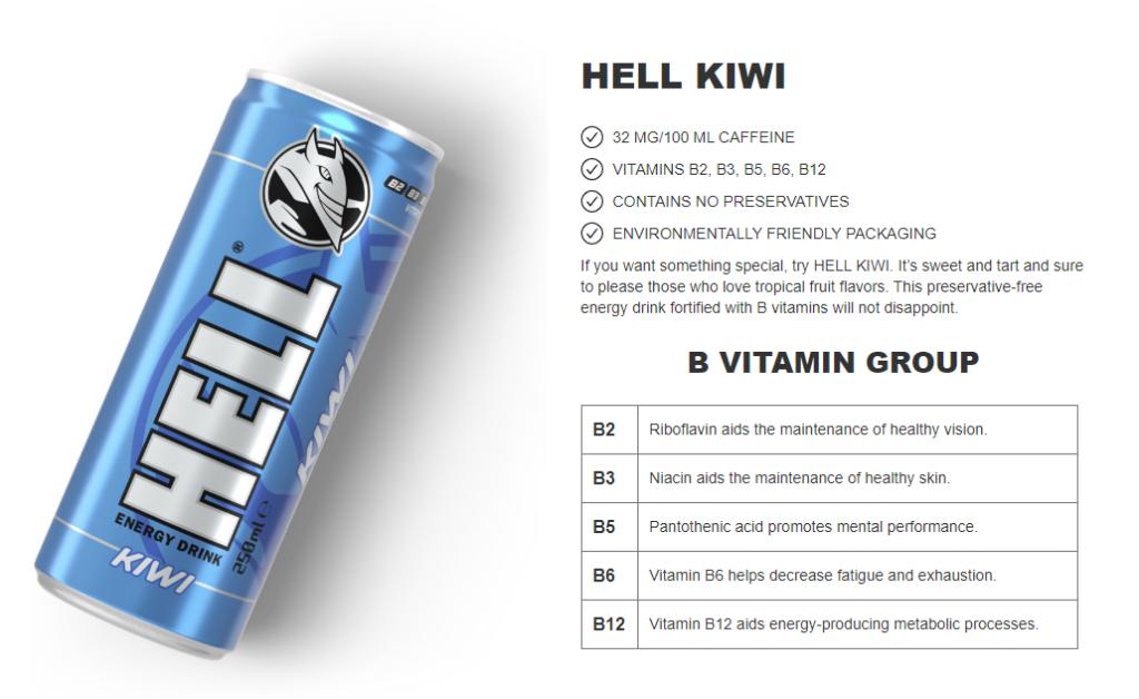 hell energy kiwi