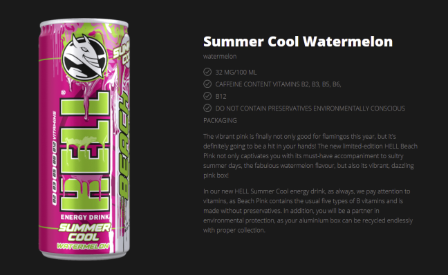 hell energy watermelon